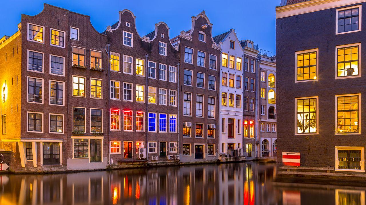 Amsterdam v Holandsku
