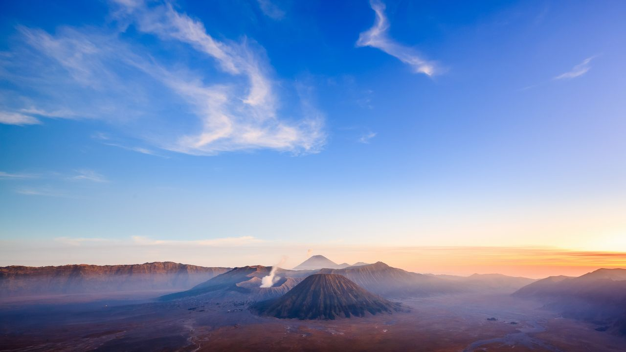 Sopka Bromo, Indonésie