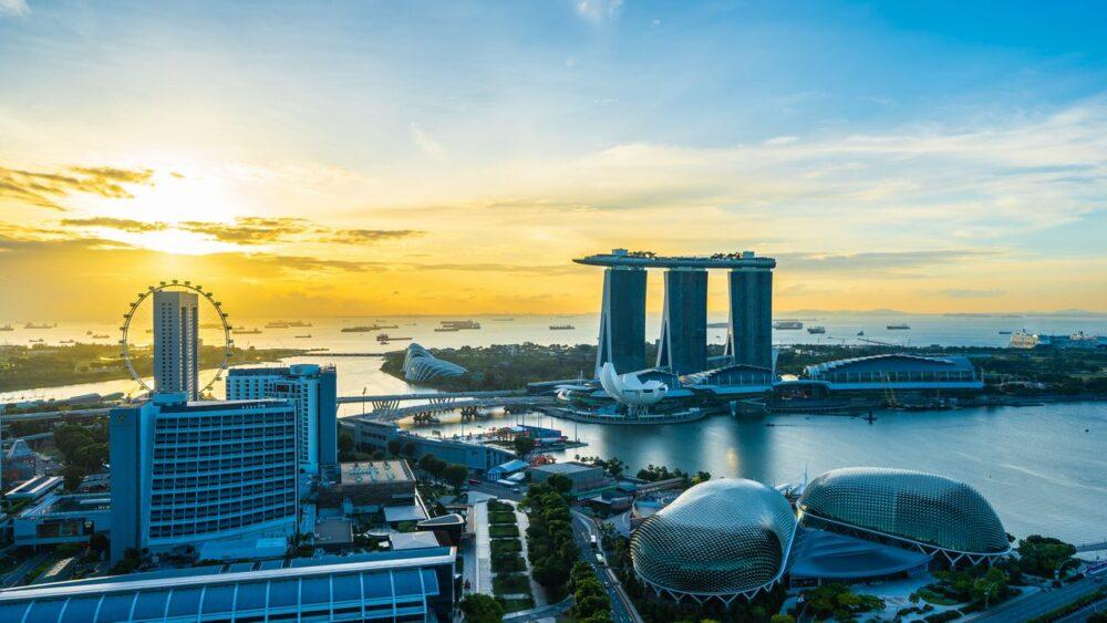 Budovy Singapur
