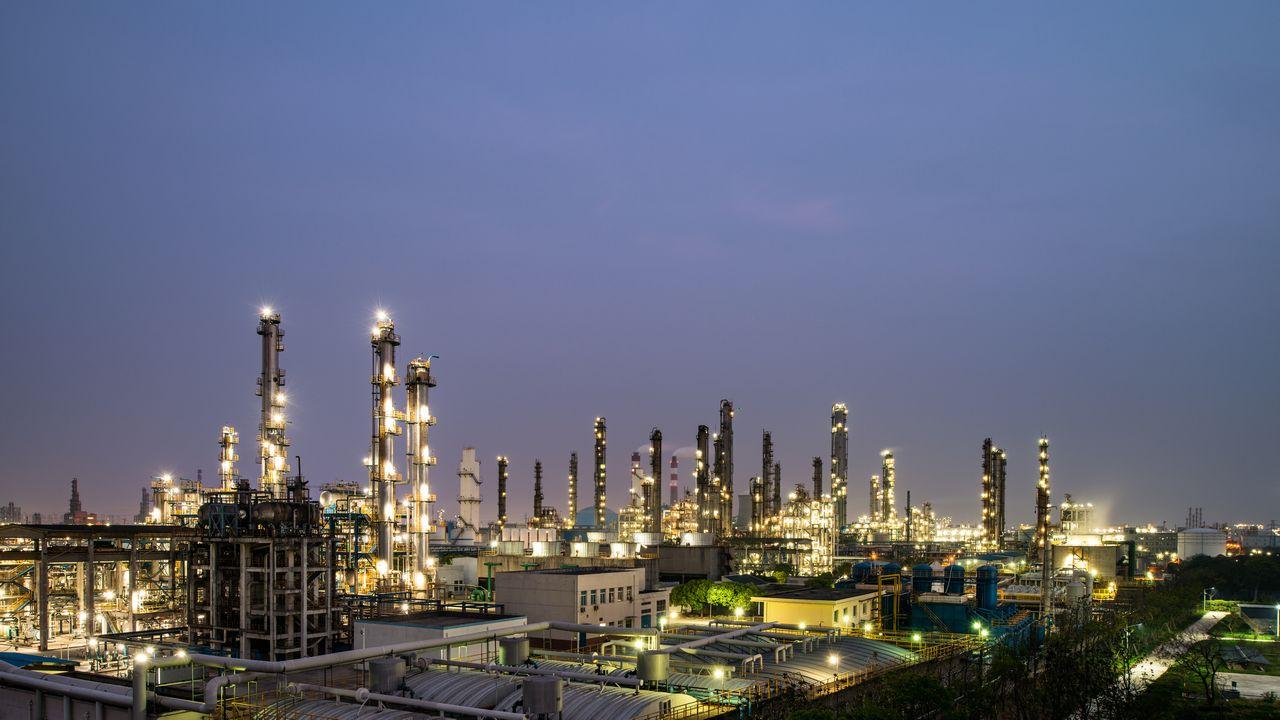 Chemická továrna v Iránu