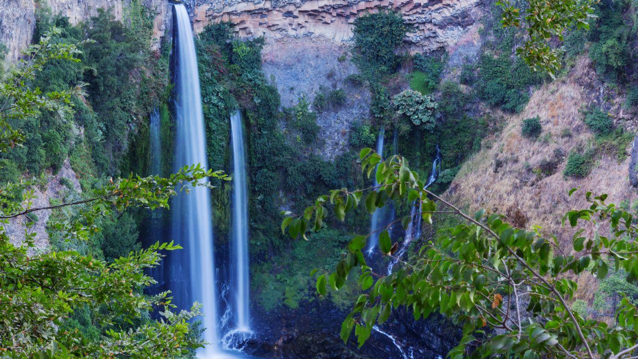Vodopády a příroda v Chile