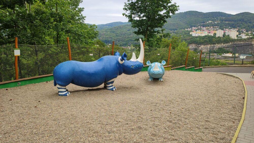 Dětské hřiště - zoo ústí nad labem