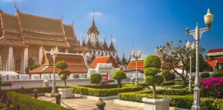 grand palace complex bangkok