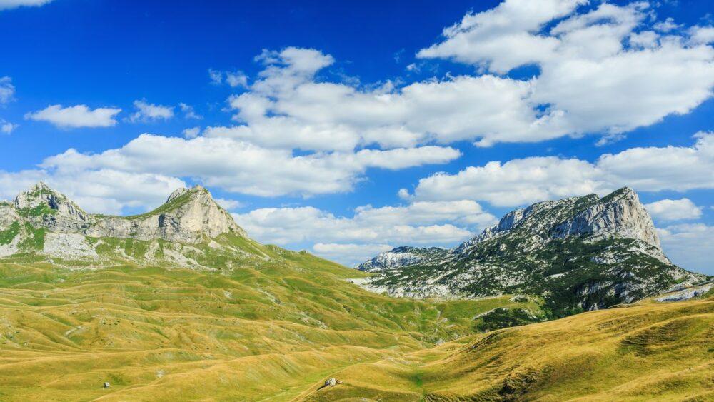 Hory v národním parku Durmitor