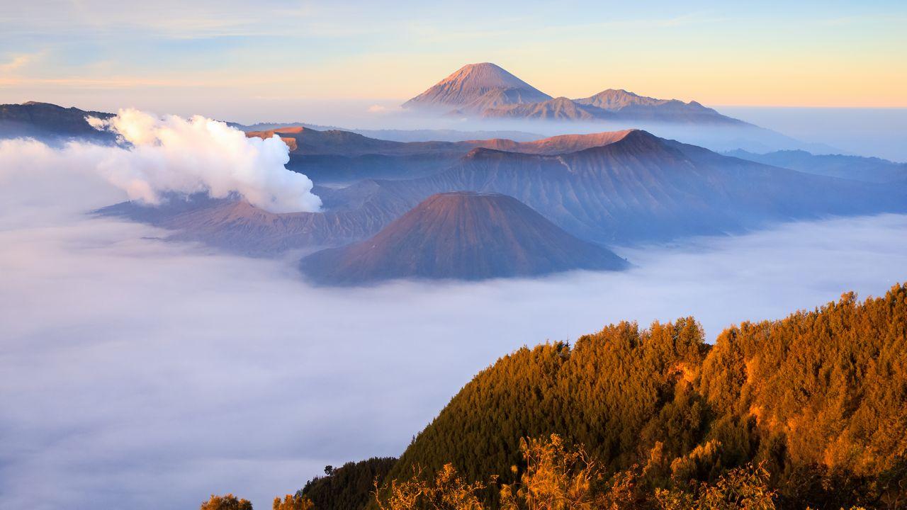 Indonésie - sopka Bromo