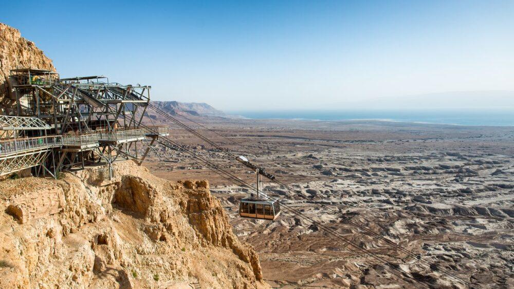 Lanovka - Masada