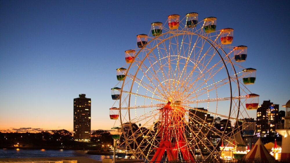 Luna park v Sydney