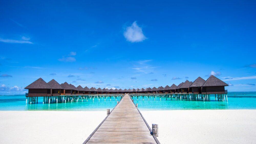 Luxusni resort na Maledivách