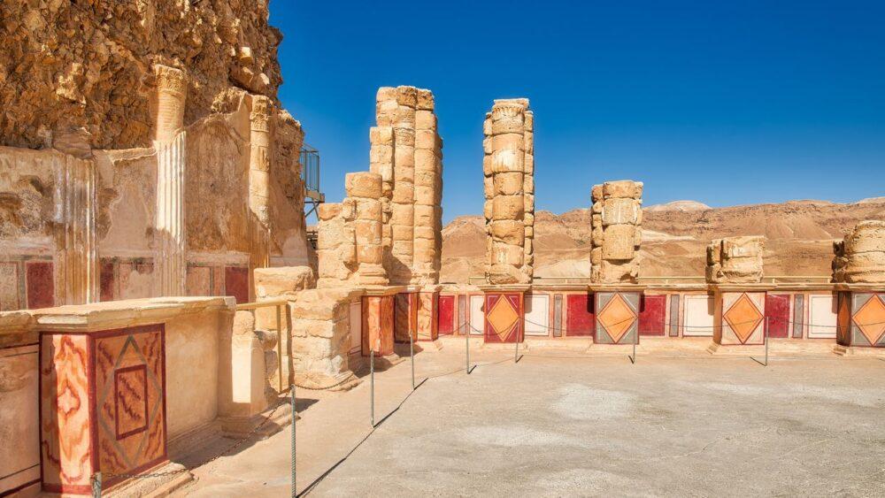 Masada - palác