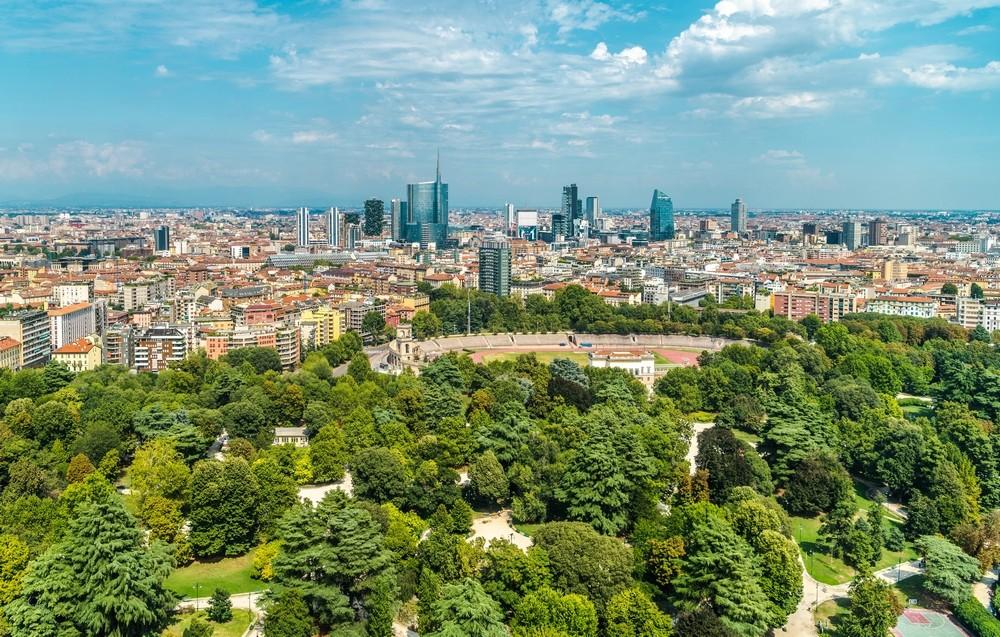 Město Milano