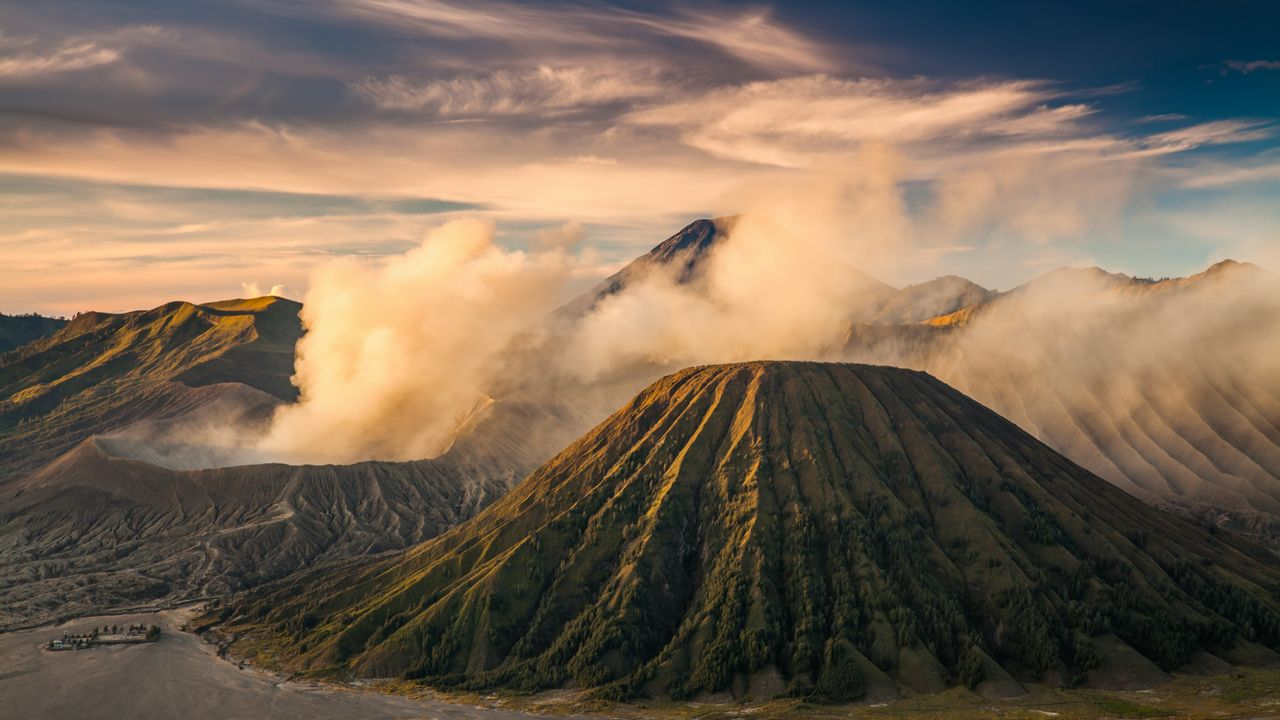 Bromo sopka - Indonésie