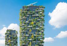 mrakodrapy milano verticalni zahrada