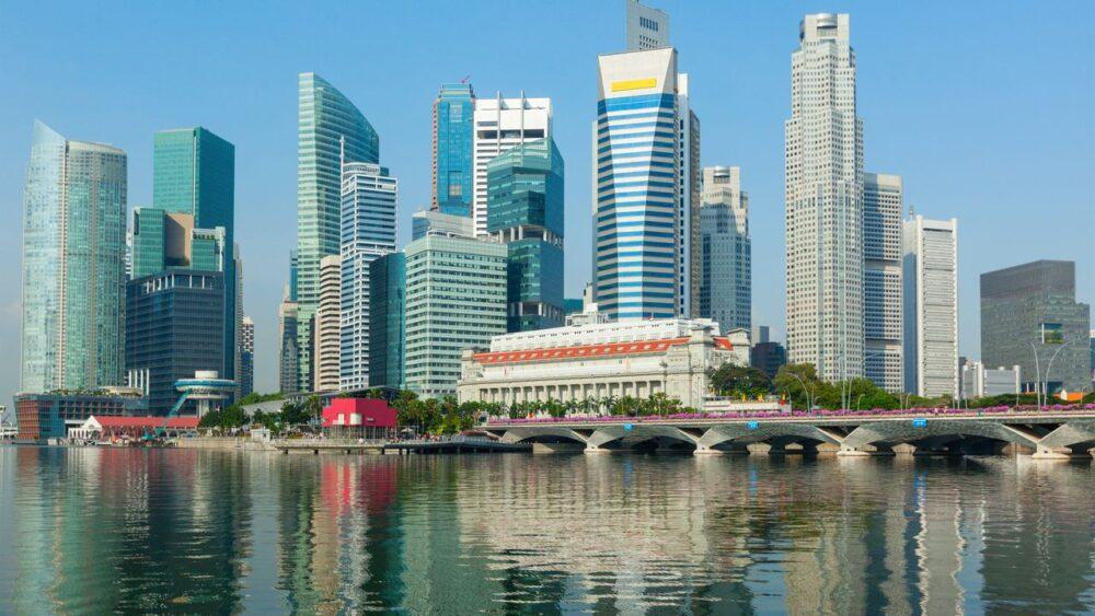 Mrakodrapy v Singapuru
