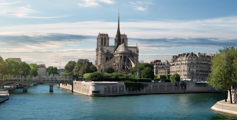 Notre Dame před požárem