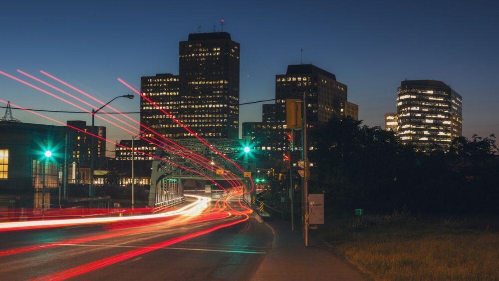 Ottawa v noci