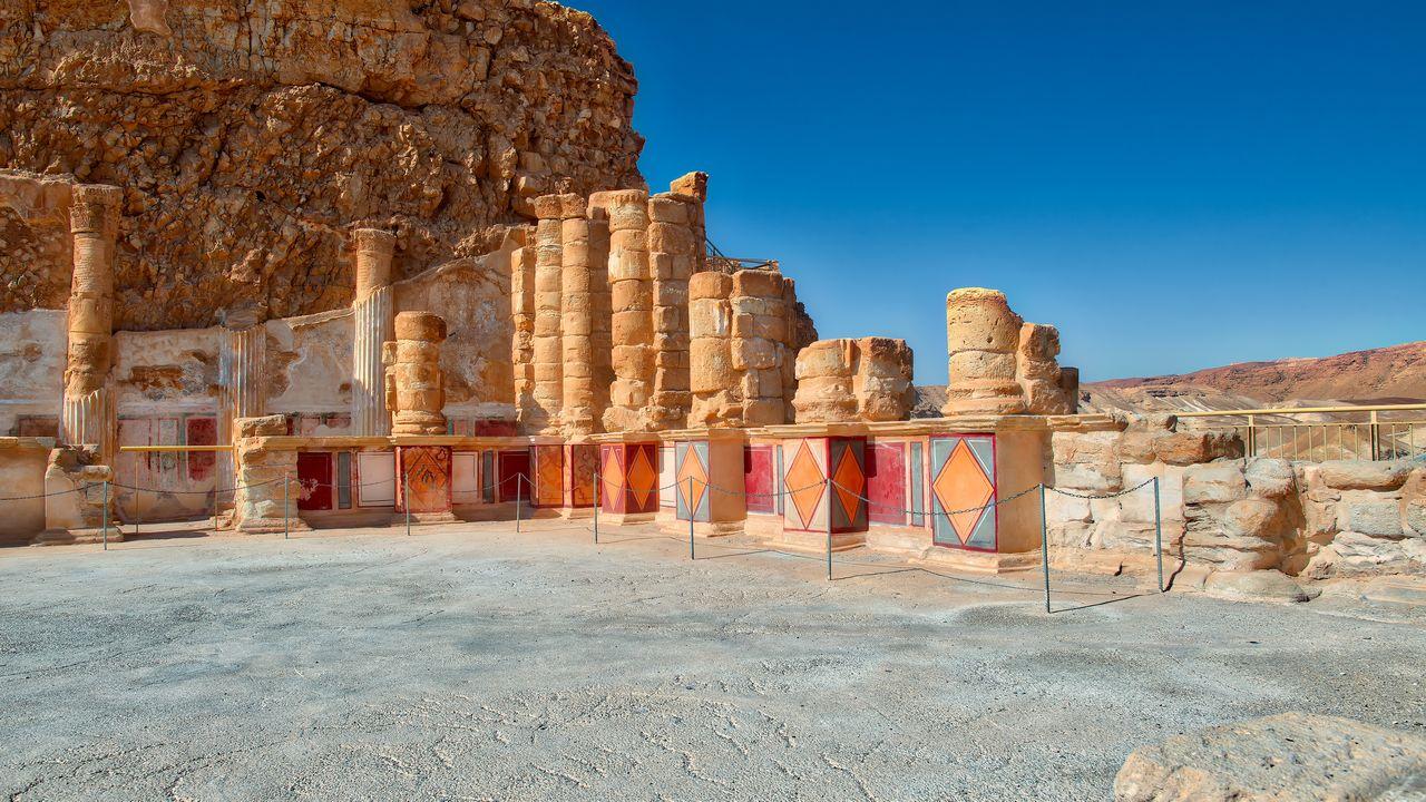 Palác - Masada