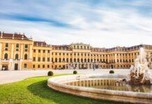 palac schonbrunn ve vidni