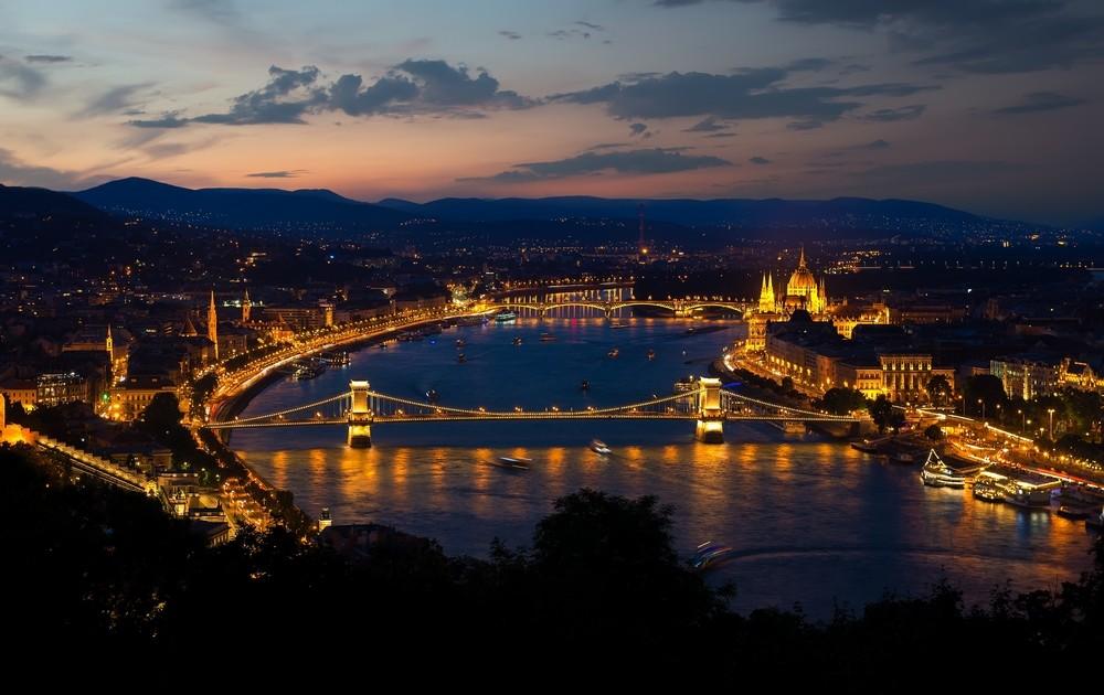Panorama Budapešť