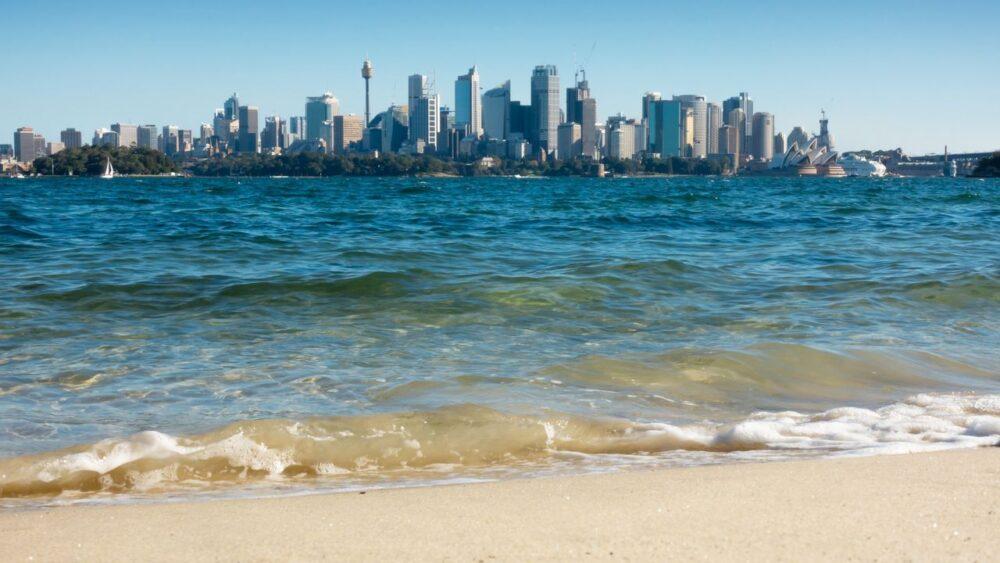 Pohled na Sydney