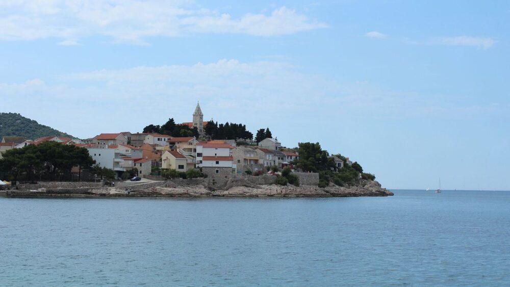 Primošten v Chorvatsku