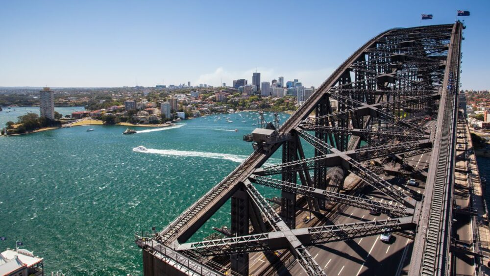 Přístav v Sydney