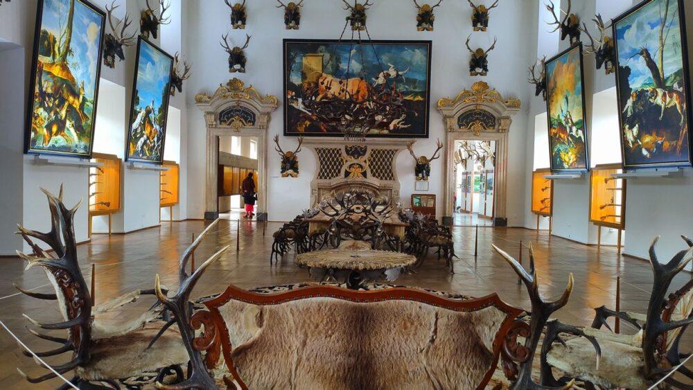 Sal v zámku