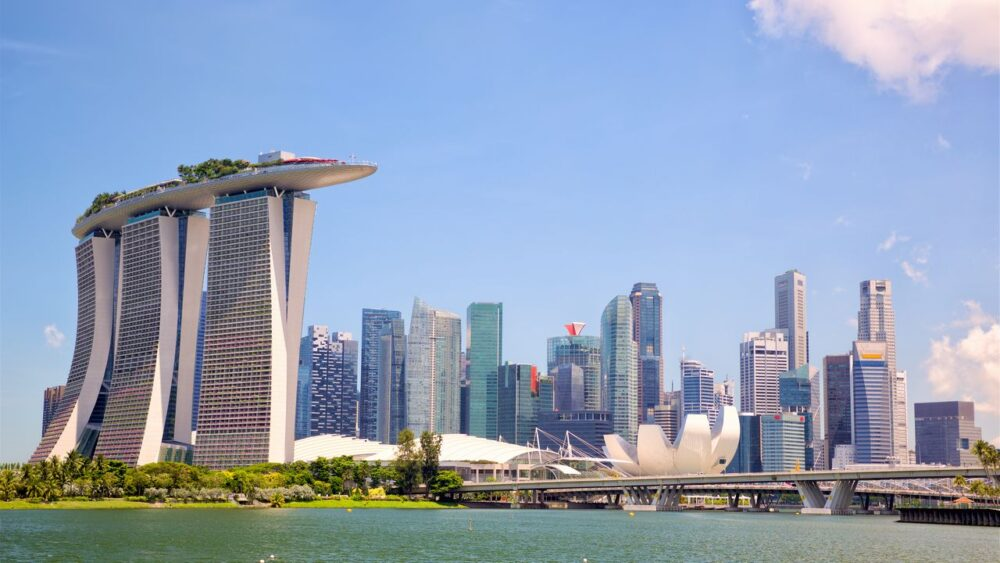 Singapur - budovy