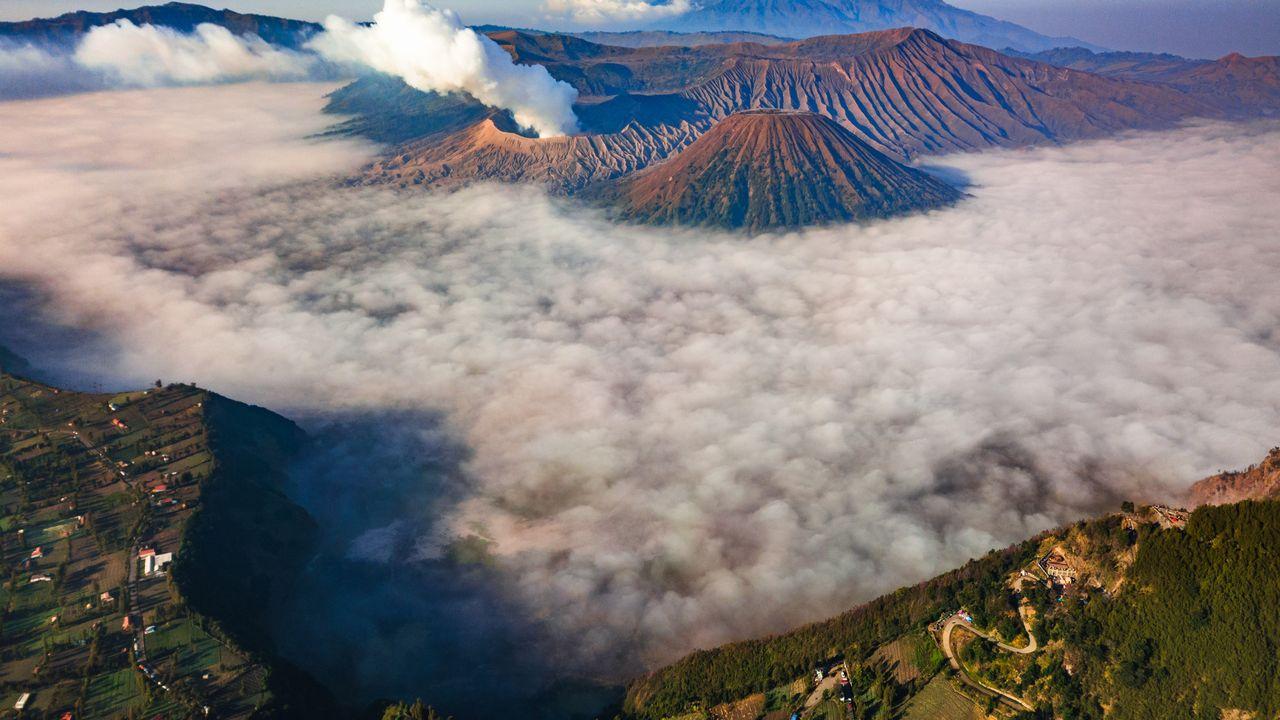 Sopka Bromo - Indonésie