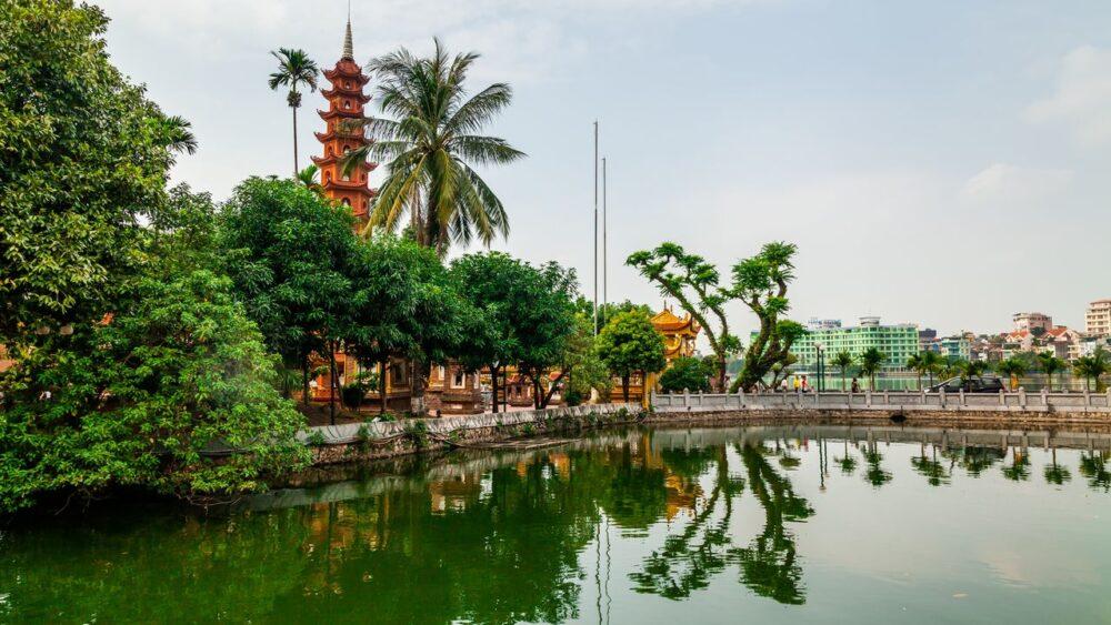 Tran Quoc Pagoda - Hanoj