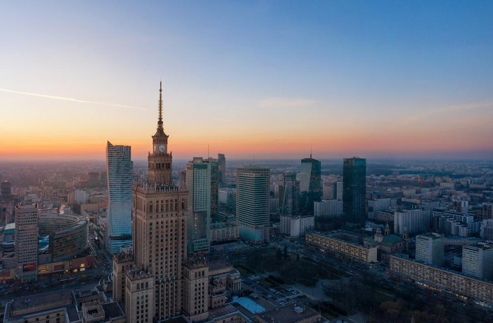 Mrakodrapy ve Varšavě