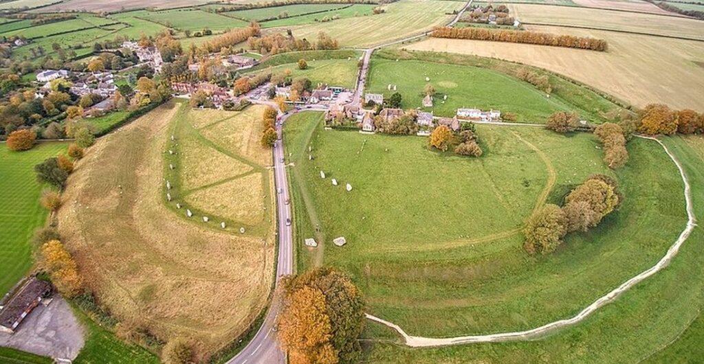 vesnice Avebury