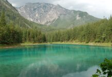 zelene jezero