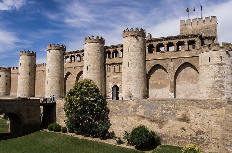 Zaragoza palac Aljaferia