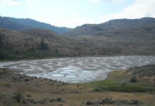 jezero Spotted Lake