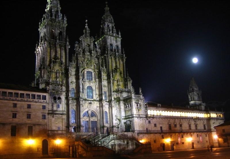 katedrala v santiagu de compostela
