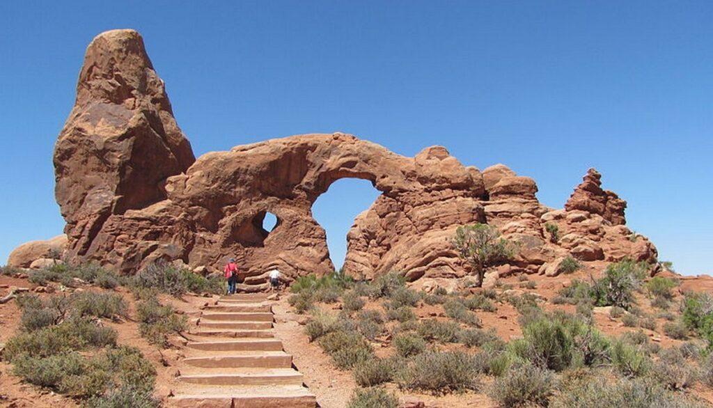 park arches turret arch