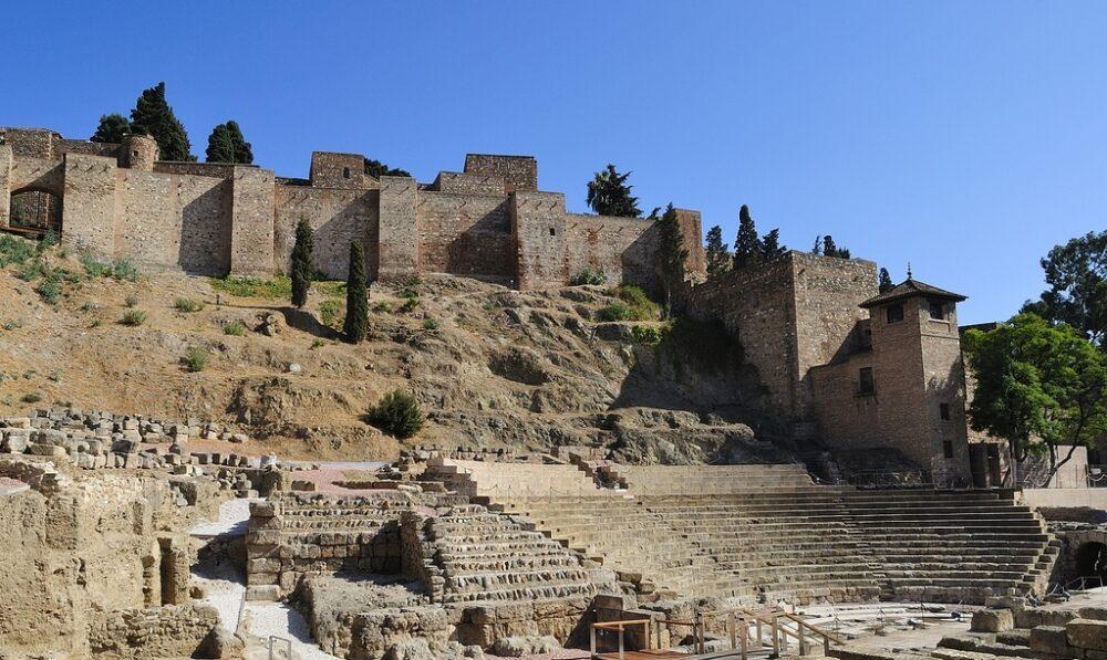 pevnost Alcazaba
