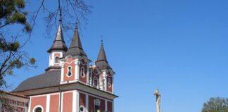 kostel na kalvarii