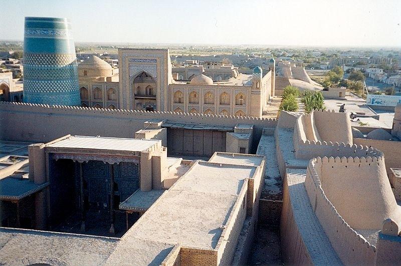 KhivaWalls uzbekistan