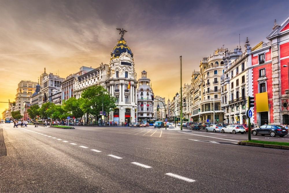Ulice v Madridu