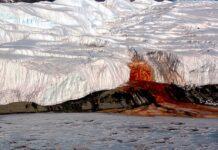 Blood Falls ledovec