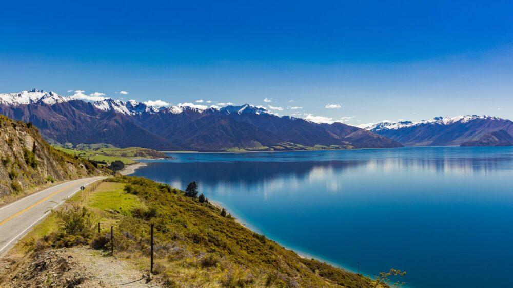 Hawea-Novy-Zeland