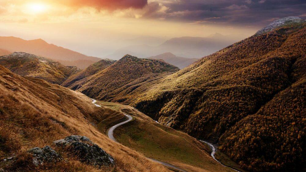 Mlha-na-Kavkazu
