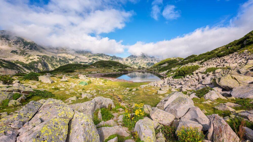 Pirin-scenerie
