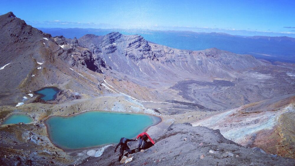 Tongariro-Novy-Zeland